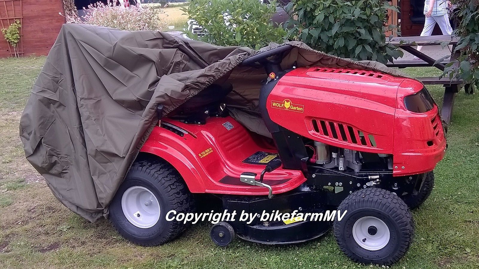 Husqvarna Lawn Tractor Cover : Lawn tractor outdoor cover folding garage viking solo mtd