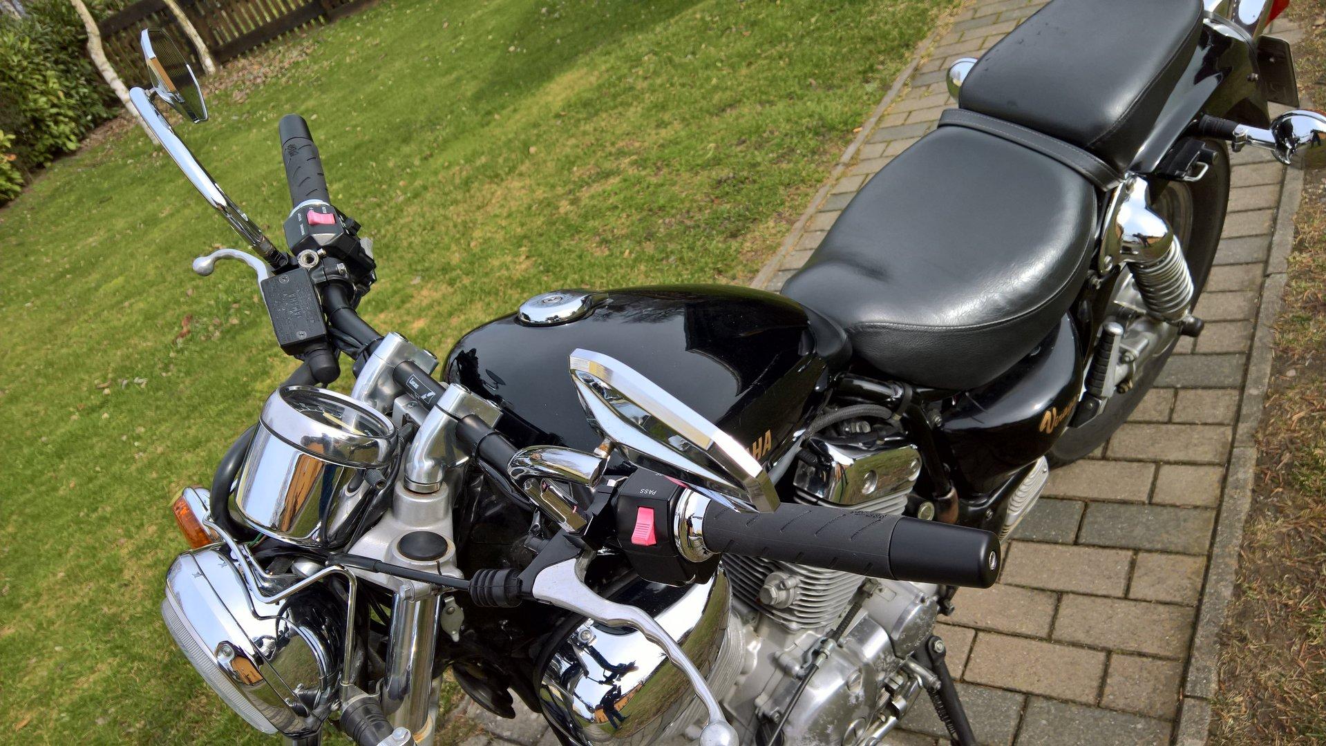 Yamaha Virago  Straight Handlebars